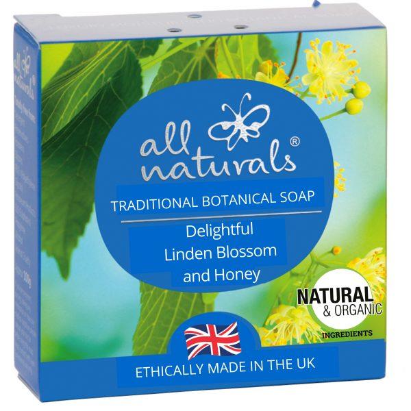 All Naturals Soap Bar Linden