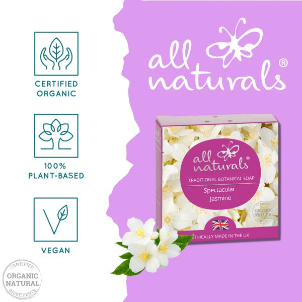 All Naturals Organic Soap Bar Jasmine