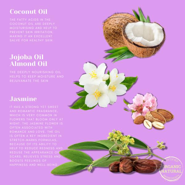 All Naturals Jasmine Body Soap Ingredients