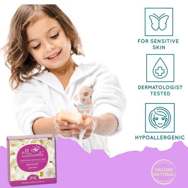 Sensitive Skin Body Wash Jasmine