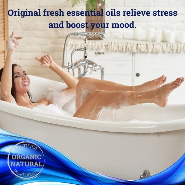 Experience soft touch of organic soaps