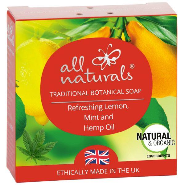 All Naturals Soap Lemon Mint