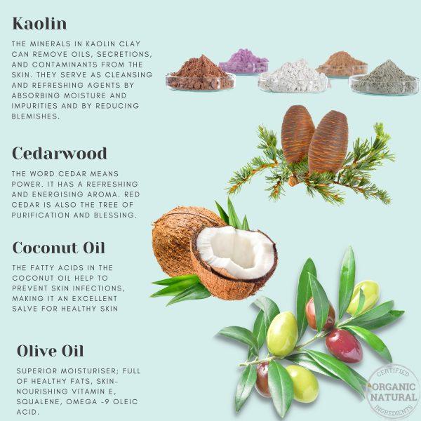 Cedarwood Body Wash Ingredients
