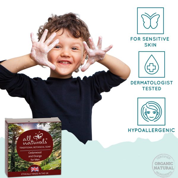 All Naturals Cedarwood for Sensitive Skin