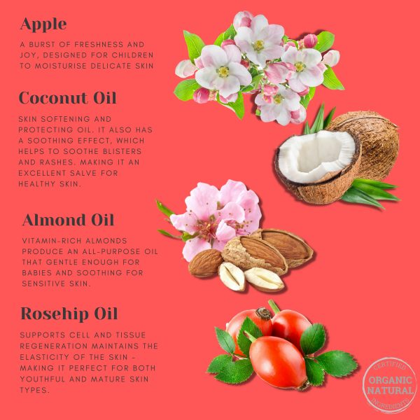Apple Blossom Soap Ingredients