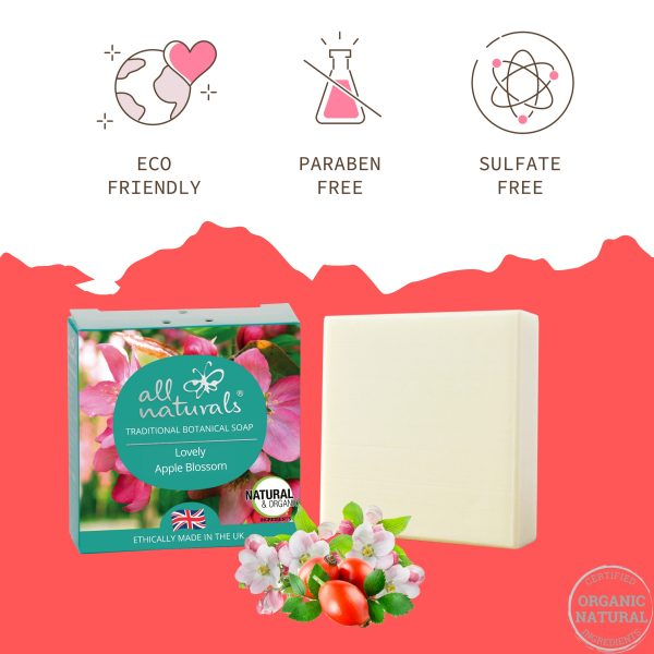 Apple Blossom Soap Free from Chemicals