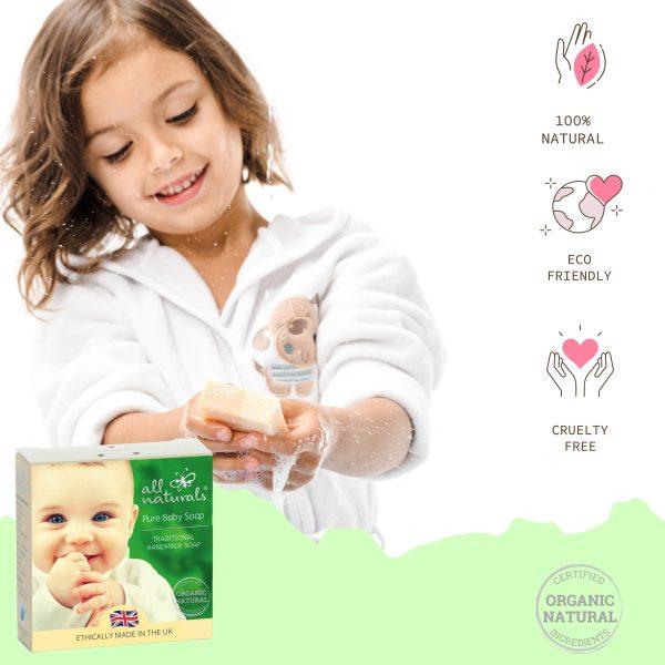Pure Baby Soap for Newborn
