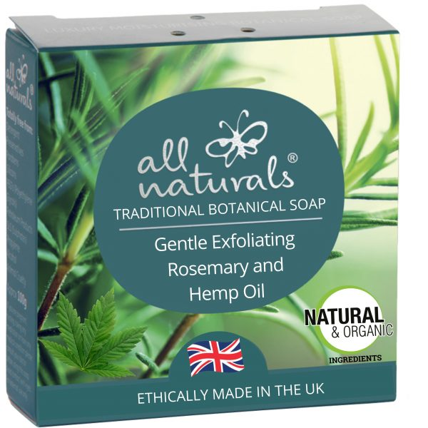 All Naturals Soap Exfoliating Face Wash Rosemary