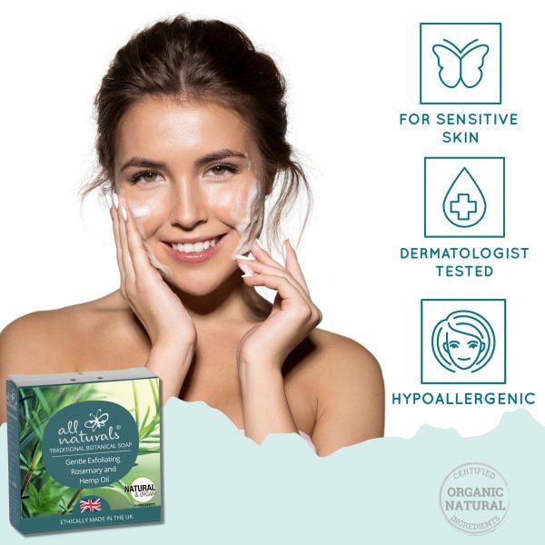 Rosemary Soap bar for sensitive skin