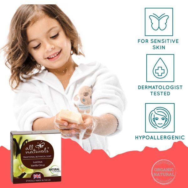 All Naturals Organic Vanilla Soap