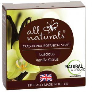 All Naturals Soap Vanilla
