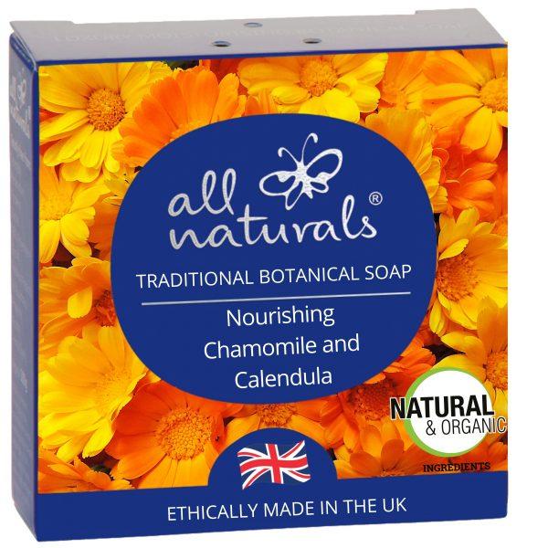 All Naturals 100% Natural Organic Soap Chamomile Calendula