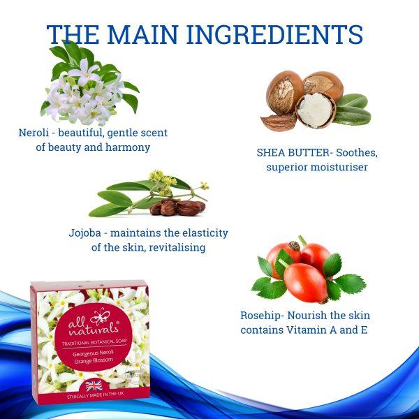 Neroli Soap Ingredients