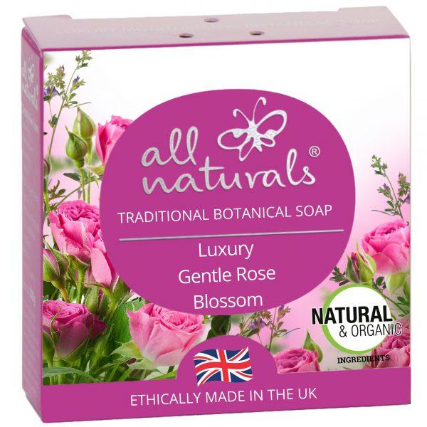 All Naturals, Organic Soap Rose